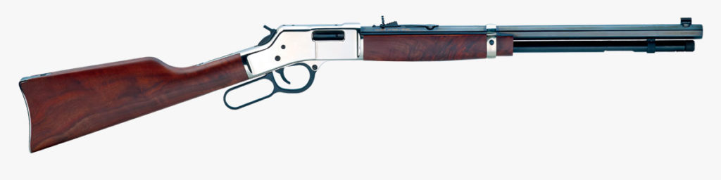 Henry Big Boy Silver Lever Action Rifle